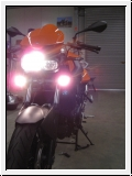 BMW F 800 R Halogen Fog/driving lamps