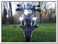 R 1200/1250 GS LC LED up to 2019 Black Fog/driving lamps