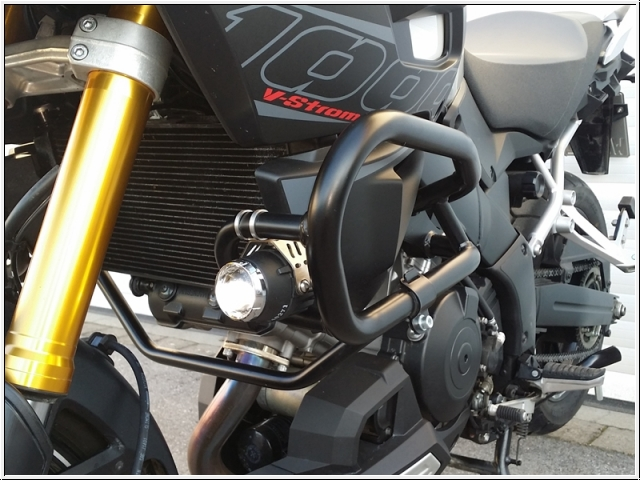 Yamaha Super Tenere Auxiliary Lights
